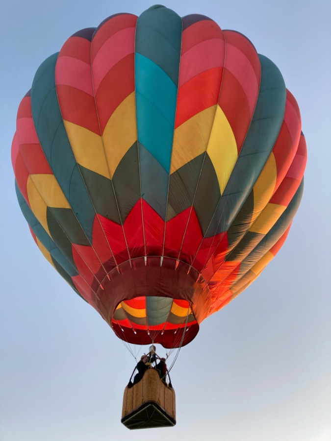 Private Hot Air Balloon Flight for Two