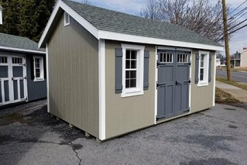 10 x 16 Helmuth Outdoor Shed